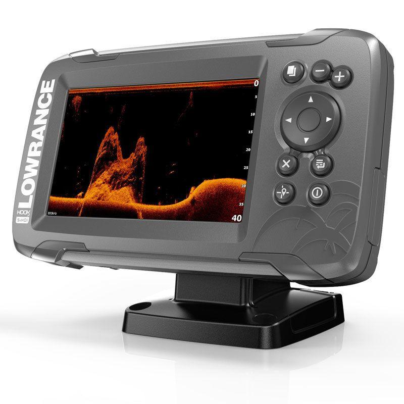 Эхолот-плоттер Lowrance Hook2-5x SplitShot GPS