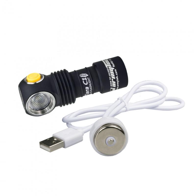 Фонарь Armytek C1 Tiara USB XP-L