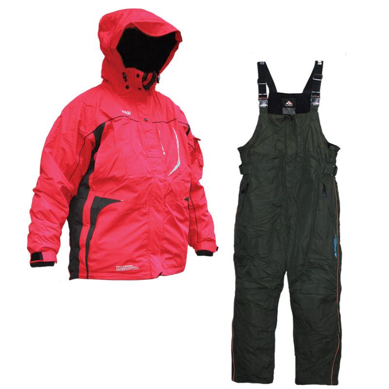 Зимний рыболовный костюм RYOBI RED/GREY N