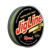 Плетеный шнур Jigline MX8 Premium 10, 100, 150 м
