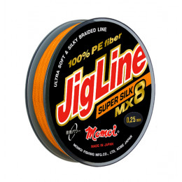 Плетеный шнур Jigline MX8 Super Silk 100, 150 м