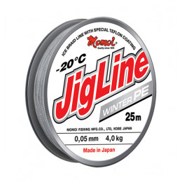 Плетеный шнур Jigline Winter 25 м