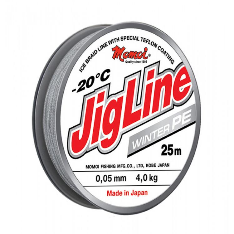 Плетеный шнур Jigline Winter 25 м