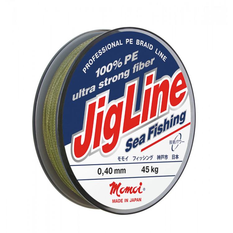 Плетеный шнур Jigline Sea Fishing 125, 250 м