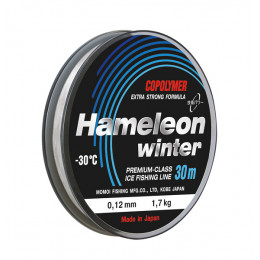 Зимняя леска Hameleon Winter 30 и 50 м