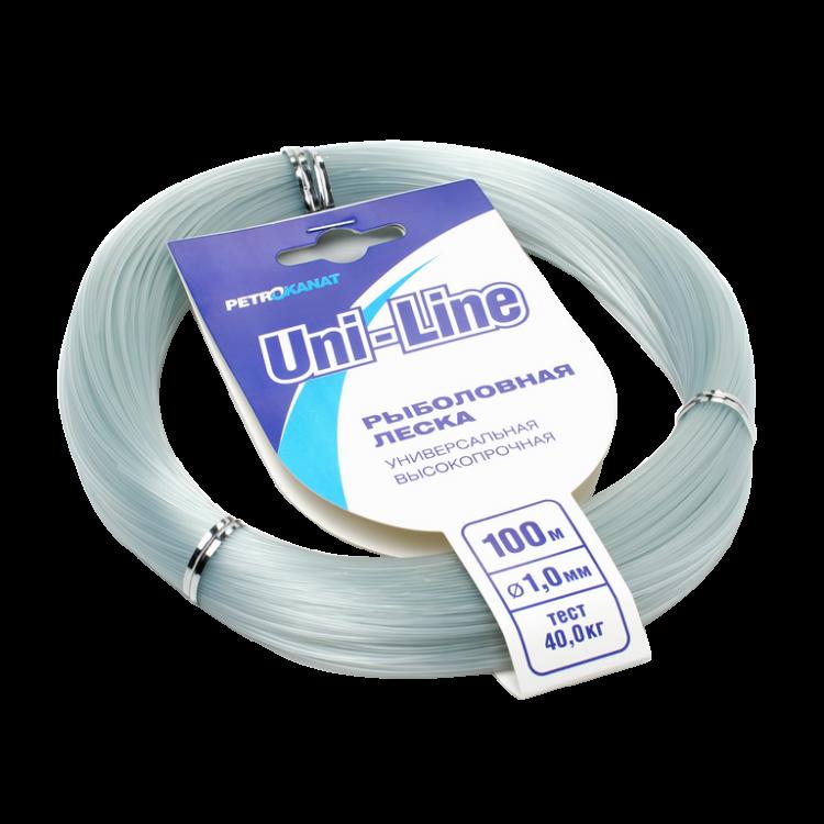 Леска UniLine в мотках 100 м