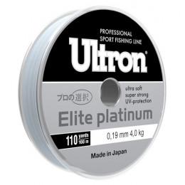 Леска Ultron Elite Platinum, 100 м