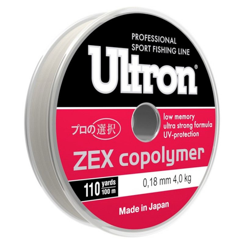Леска Ultron Zex Copolymer, 100 м