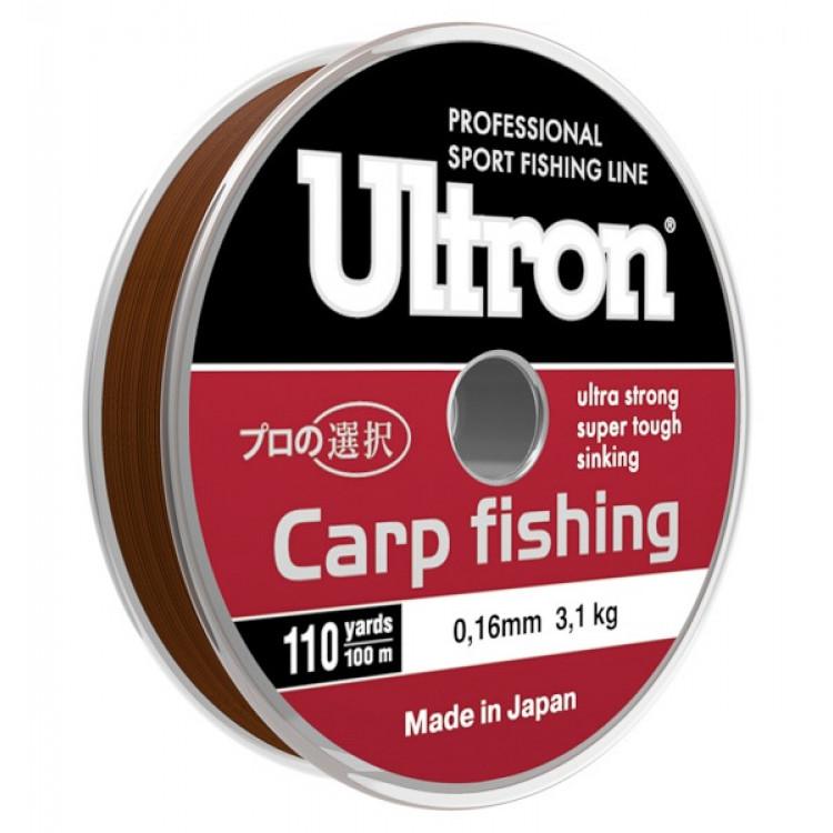 Леска Ultron Carp Fishing 100, 300 м