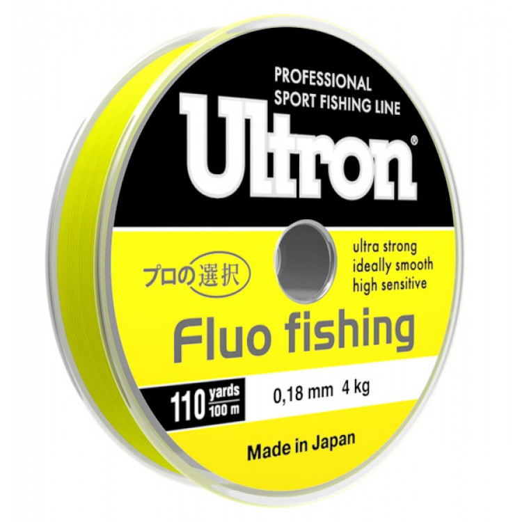 Леска Ultron Fluo Fishing 100 м