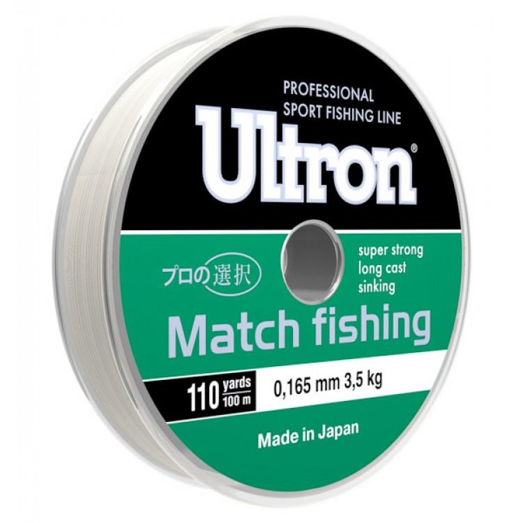 Леска Ultron Match Fishing, 100 м