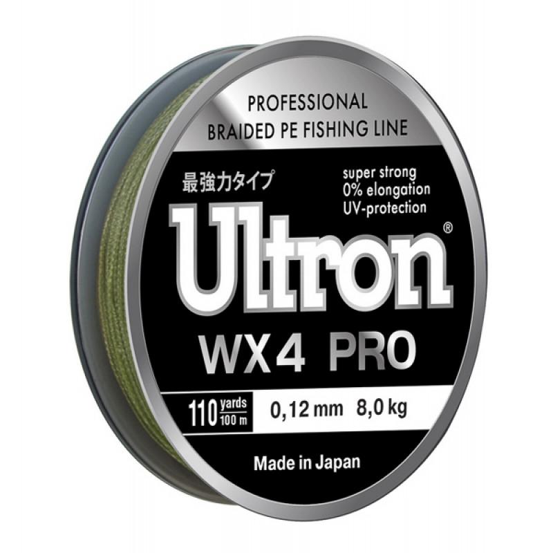 Плетеный шнур Ultron WX4 Pro, 100, 137 м