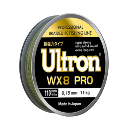 Плетеный шнур Ultron WX8 Pro, 100, 137 м