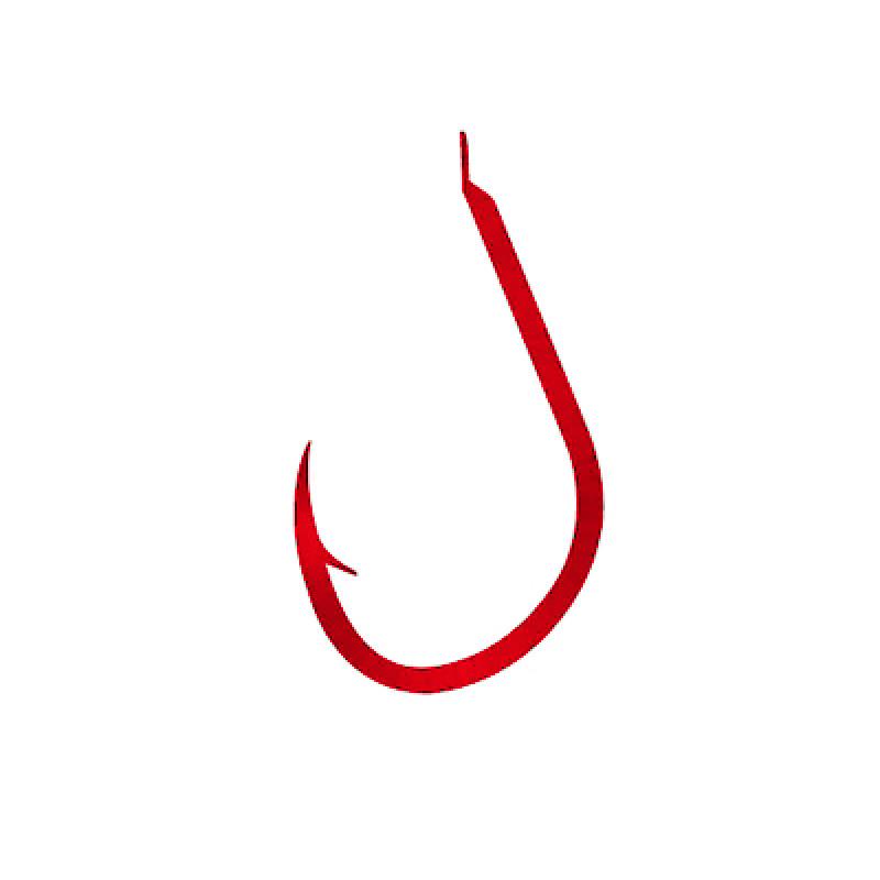 Крючки RYOBI ISEAMA FLATTED RED