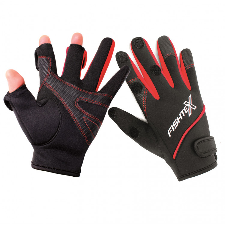 Перчатки Fishtex Black