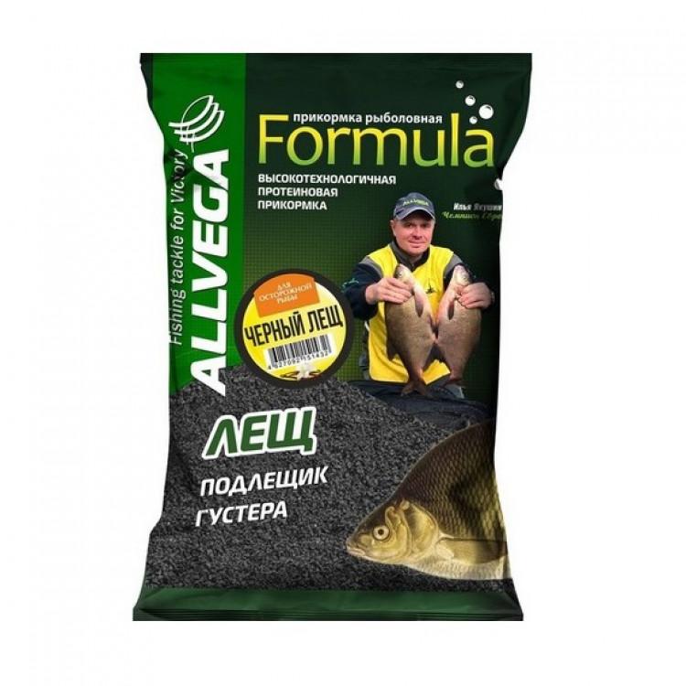 """Прикормка ALLVEGA """"Formula Black Bream"""" (черный лещ), 0,9 кг"""