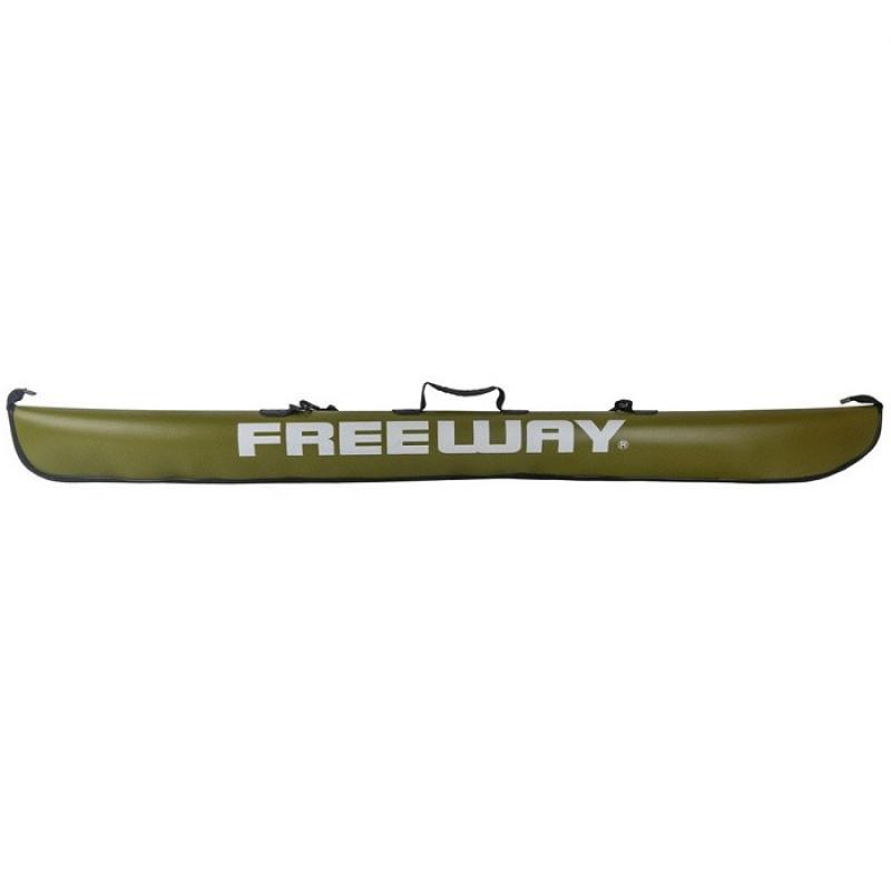 Чехол для удилищ Freeway пластиковый зеленый