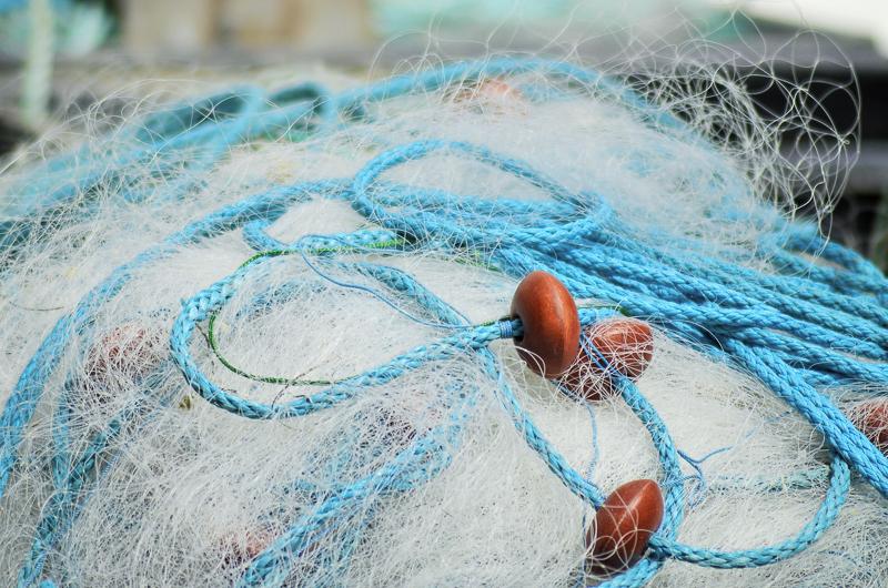 Рыболовные сети из лески